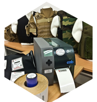 body armor label printer supplier