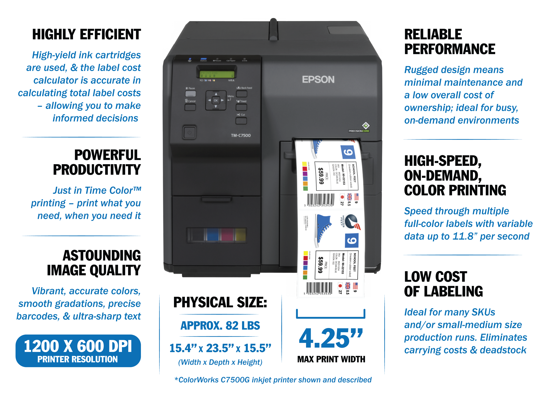 Color Printers | Advantage Label