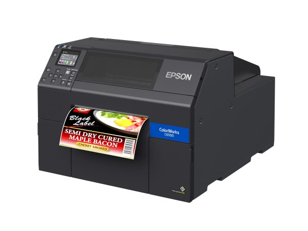 ColorWorks® CW-C6500A Color Inkjet Label Printer with Auto Cutter